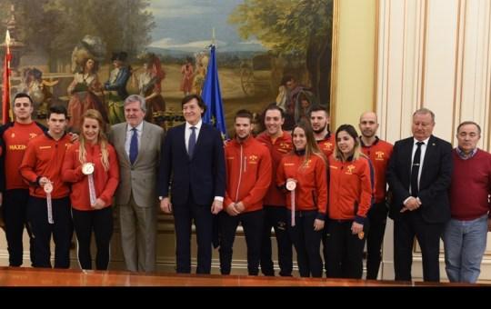 La Halterofilia española consigue 13 medallas.