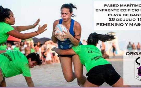 "XXIV Torneo de Rugby Playa ""Seven Safor""."