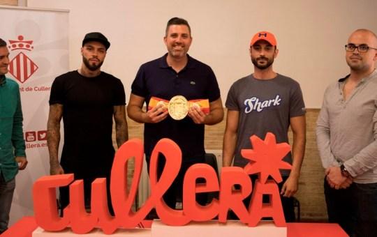"Campeonato de España de Boxeo Profesional Peso ""Superwelter""."