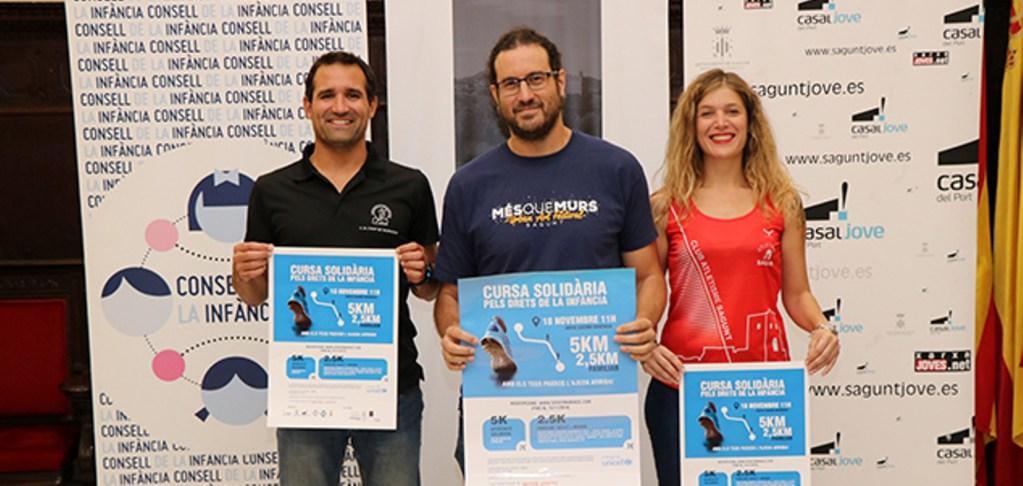 """III Carrera Solidaria """"Por los derechos de la Infancia""""."""