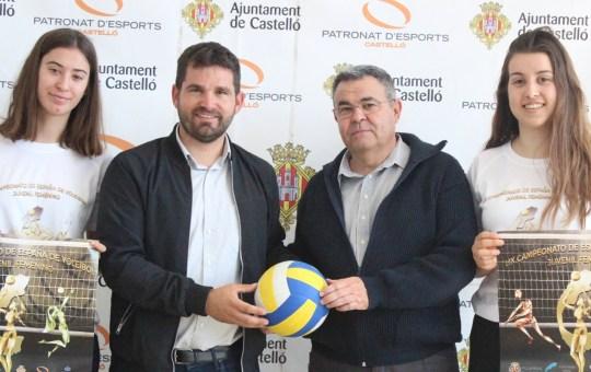 LIX Campeonato de España Juvenil de Vóley Femenino.