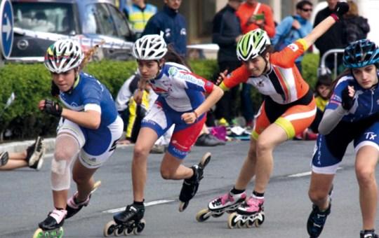 Campeonato de España de Patinaje de Velocidad.