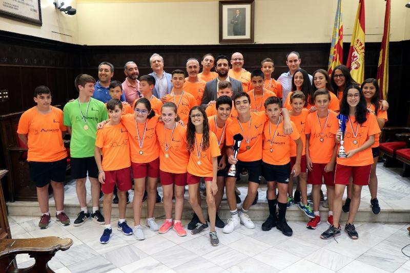 Campeones de España de Colpbol