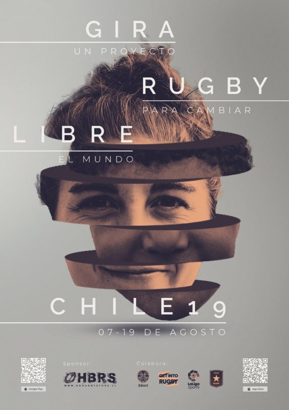 Rugby Libre Chile 2019.