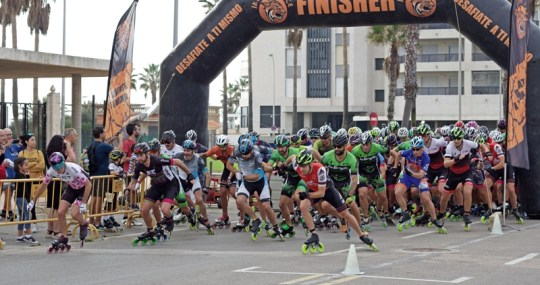 I Maratón Roller Cullera.
