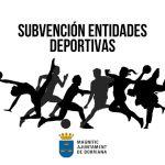 Subvención entidades deportivas