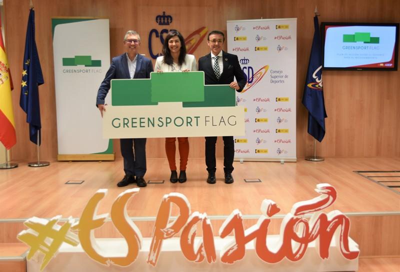 'Green Sport Flag'