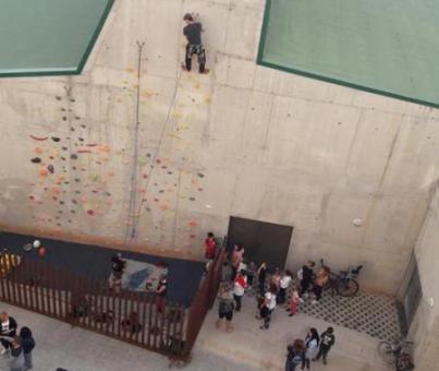 Escalada en Rocódromo