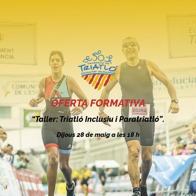 Triatlón inclusivo y paratriatlón