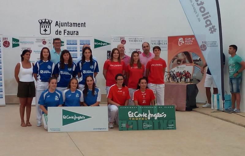 Trofeo ECI Galotxa femenino
