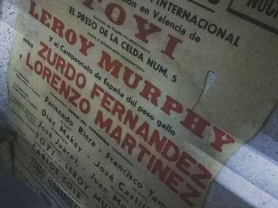 Cartel Cto España peso gallo