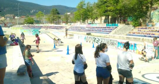 Iniciacion al Skateboarding