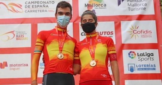 Campeones de España 2020 contrareloj