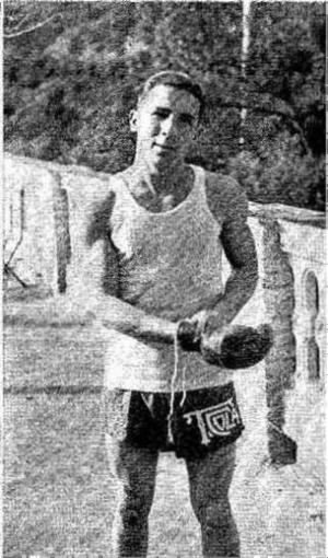 Tomás Cola. Campeón España ligeros