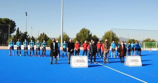Inauguración Campo hockey Cheste