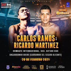 Carlos Ramos vs Ricardo Martínez
