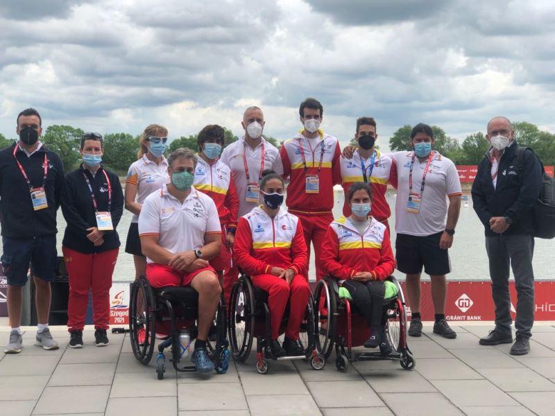 Copa del Mundo Piragüismo paralímpico