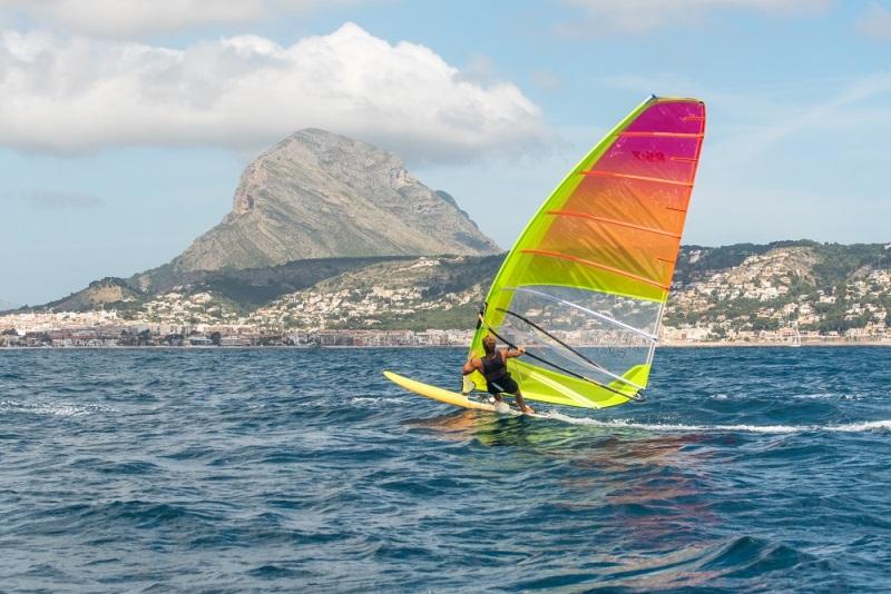 Entrenamiento Windsurf Olimpicos