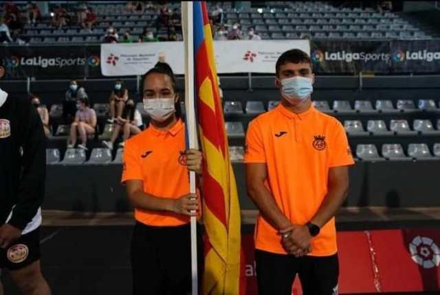 Alba Bustos e Ismael Conde