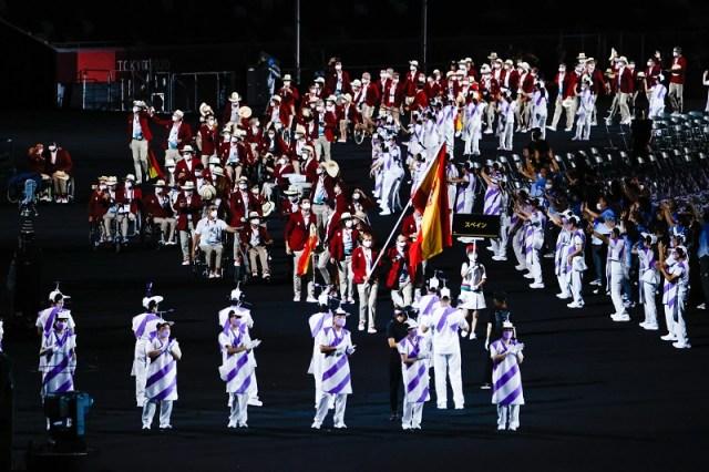 JJPP Tokio. Ceremonia inauguracion