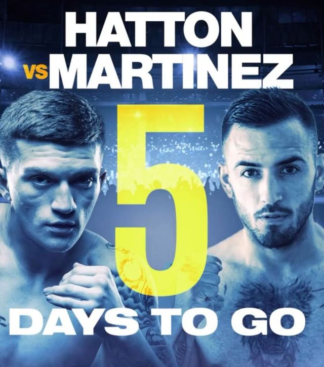 Campbell Hatton vs Sonny Martínez