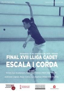 Final Lliga cadet