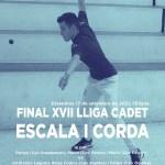 Jordi, Borja y Felipe ganan la XVII Lliga Cadet