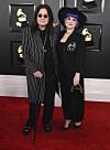 PÈRE ET FILLE: Kelly Osbourne est la fille de la rock star Ozzy Osbourne.  Ici, ils sont photographiés lors des Grammy Awards en janvier.  Photo: NTB Scanpix