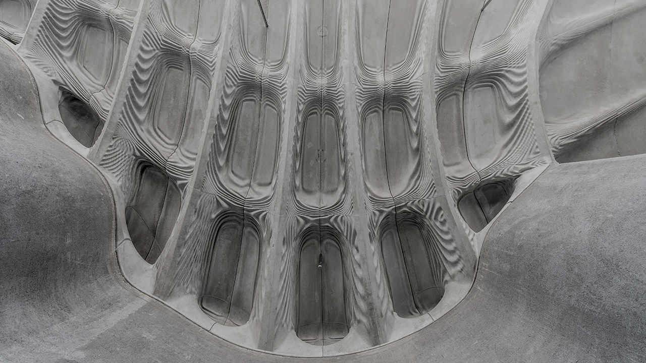 The Smart Slab - 3D-printed formwork for a radical new