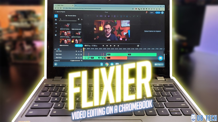Flixier - High-Powered Video Editing on a Chromebook