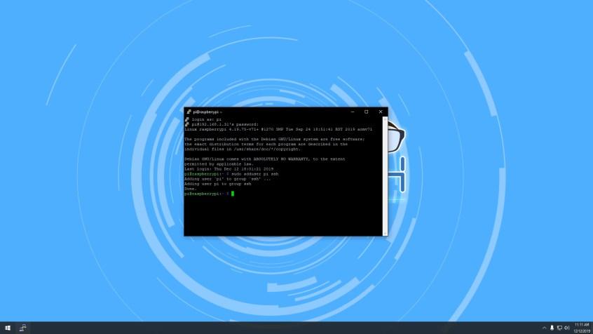 Adding User to SSH