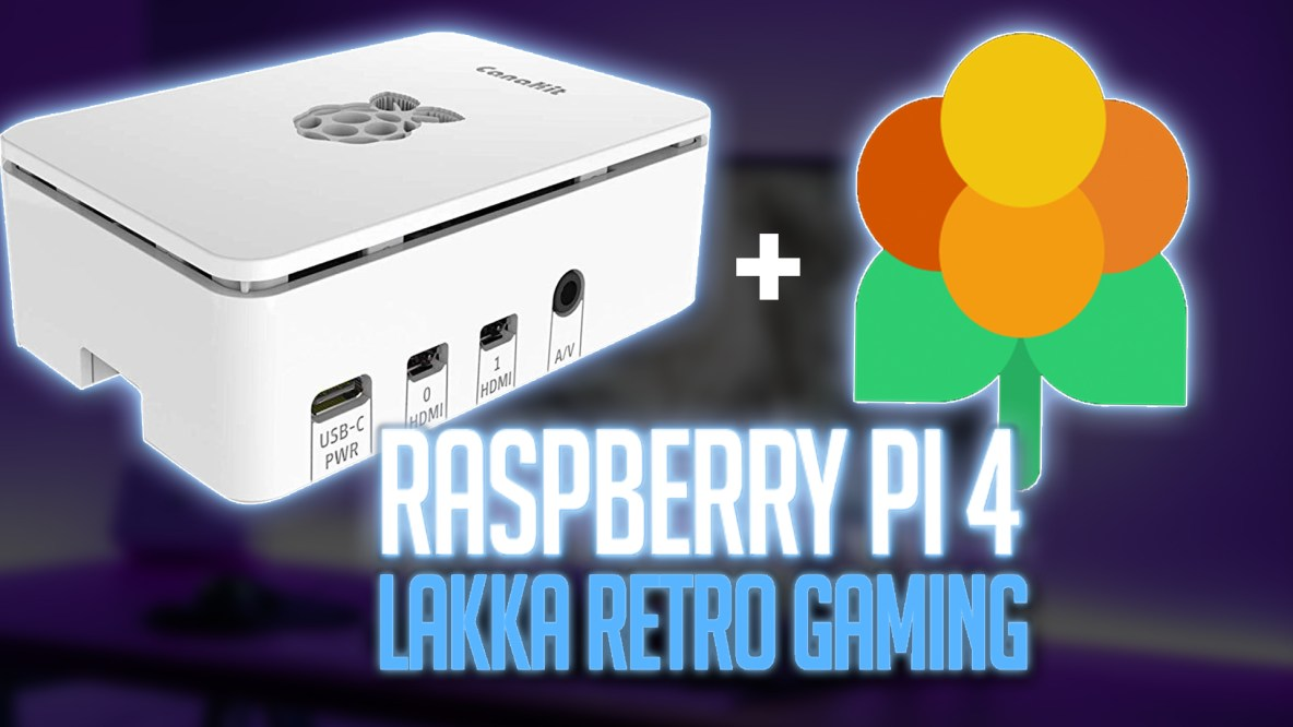 Lakka on Raspberry Pi 4