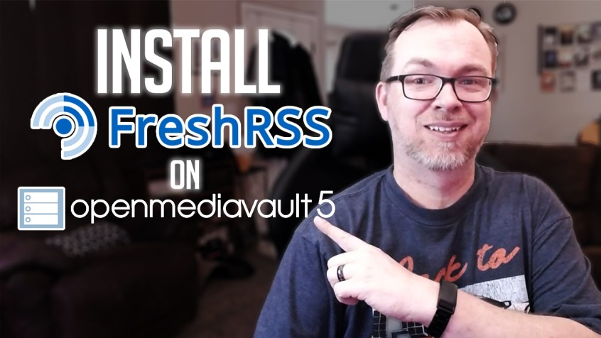 How to Install FreshRSS on OMV5