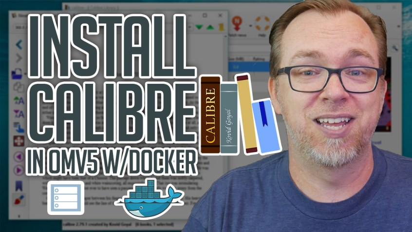 How to Install Calibre on OMV and Docker