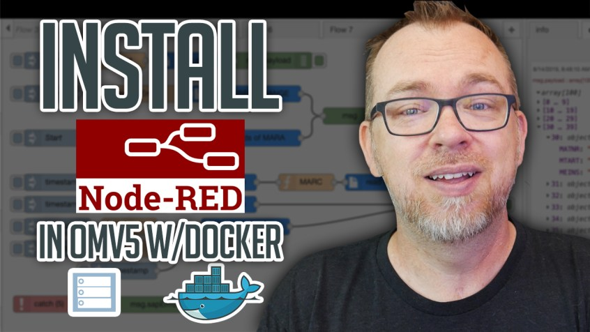 How to Install Node Red in OMV and Docker