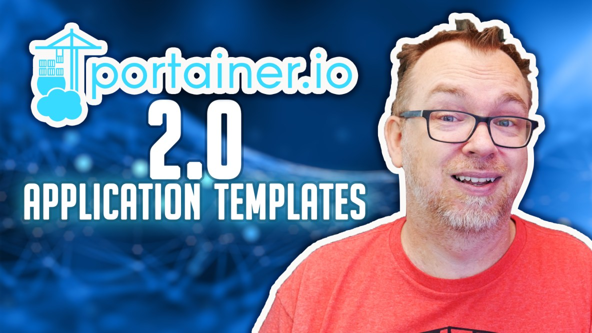 Application Templates in Portainer 2.0