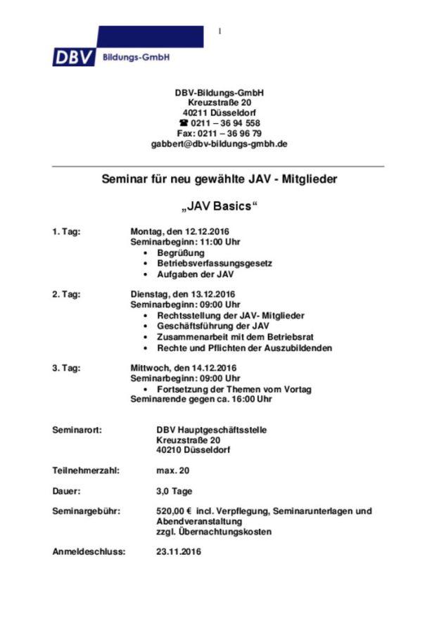 thumbnail of Seminarablauf JAV Basics 1_Duesseldorf_12-141216