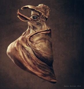 alien big chin side