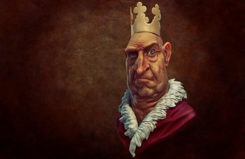 king 3d render 1