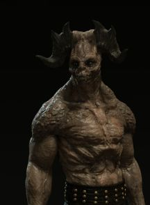 Skin shifter concept for the tv show Beowulf: return to the shieldlands