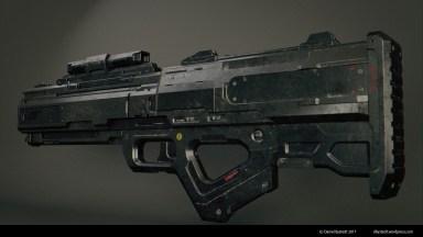 sci-fi rifle 003