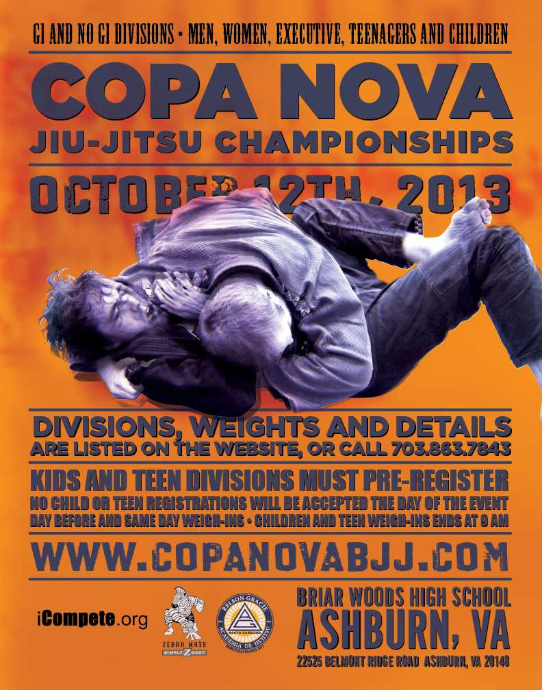 Copa Nova 12 Oct 2013 Flyer