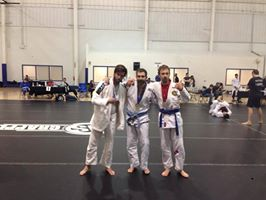 Gold in his Gi division