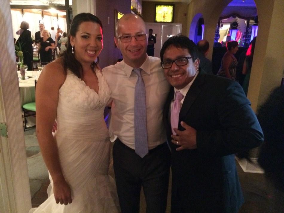Kali and Fernado's wedding
