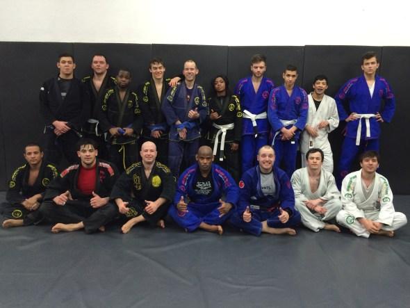 Dimitri and the Malicia BJJ Team