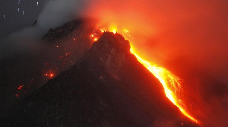 India's only live volcano in the Andaman and Nicobar Islands has once again started spewing ash. (Representational Image)