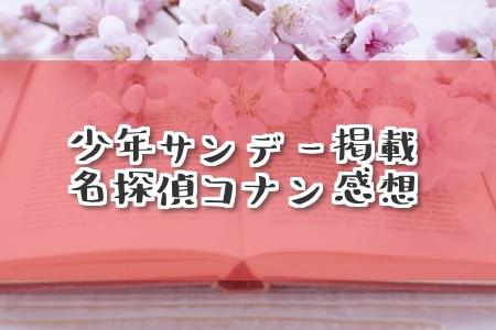サンデー40号『名探偵コナン』FILE1018「氷中」ネタバレ