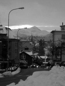 Früher Morgen (na gut,08:50 Uhr) in Uzwil am 14.12.2012.