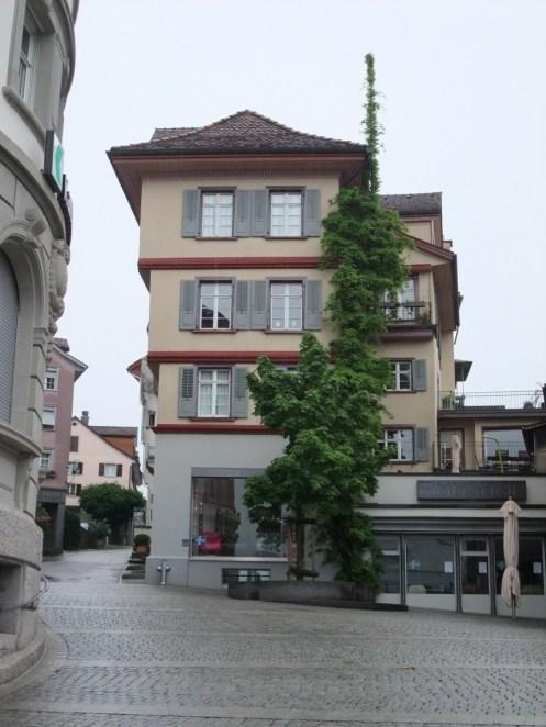 Domizil ab Oktober: Kirchgasse 1, dritte Etage. Blick auf den Alpstein: unbezahlbar.