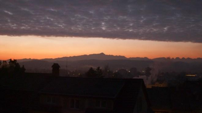Der Alpstein, wenn mal kein Nebel herrscht.